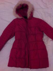 Girls pink coat NEW