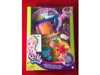 NEW Polly Pocket - Tiny Power Seashell Purse 'Mattel'