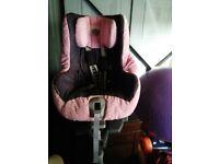 Britax S-I Pro car seat group 1 forward facing