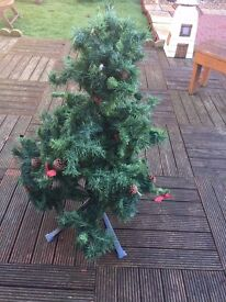 4ft artificial green xmas tree