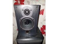 Yamaha subwoofer and two wharfedale diamond