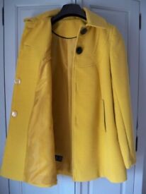 Florence & Fred Mustard Jacket as new, size large 10.