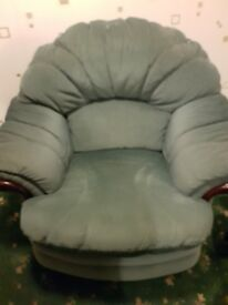 Selling a 2 seater sofa and 2 chairs, immaculate condition comes from pet and smoke free home