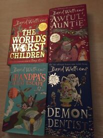 David Williams hardback books for sale