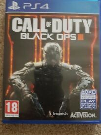 Call of duty black ops III ps4 games