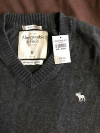 Abercrombie & Fitch Mens Sweater Size M BNWT