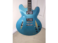 Vintage Gibson 335 Dave Grohl Style 'Pretender' Guitar - with gig bag.