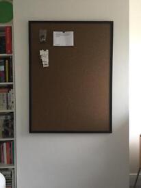 Large Cork Notice Board / Pin Board