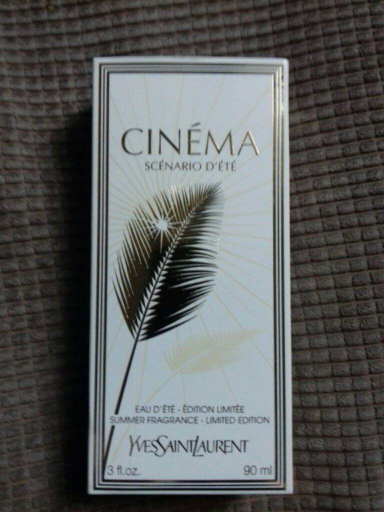 Yves Saint Lauren Cinema Scenario Dete Edt 90ml Limited Edition