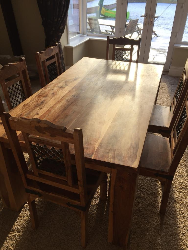 Top Quality Dining Table And 6 Chairs