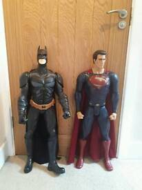 Large Superman & Batman