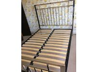 Silver Frame Double Bed