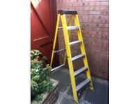 Fibreglass step ladders