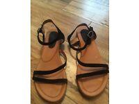Billi Bi leather sandals size 6/eu39
