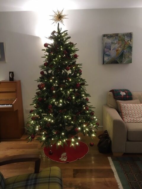 John Lewis Christmas Tree.Artificial Pre Lit 7 Xmas Tree John Lewis Nov 2018 In Kilmacolm Inverclyde Gumtree