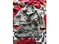 Girl Coat 12-18 Months