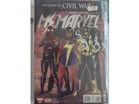 Ms Marvel The Road to Civil War. Lot 5