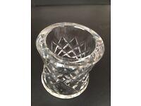 6 Glass Cut Napkin Holders