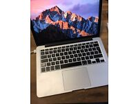 MacBook Pro with 13 inch Retina Display, 8Gb RAM, 250Gb Flash Storage