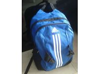 Adidas Blue and White Backpack Can meet today 20th June