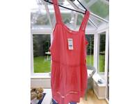 BNWT - NEXT Coral Pink Top (£24 new)