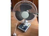 Large desk fan table fan.