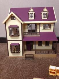 Sylvanian Family wood Manor House
