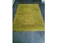 Large deep mixed pile rug