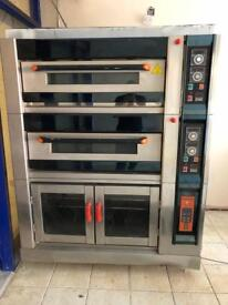 electric deck oven with proofer NFD-40FF