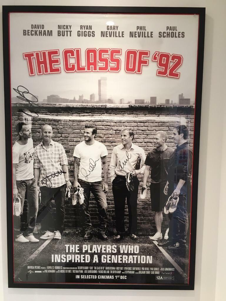 Manchester United's Class of '92 inspire limited edition