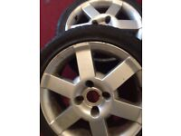 195 / 45 / 16R - 4 ALLOYED WHEELS / RIMS and TYRES