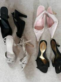 Shoes all for £10 size 4.5