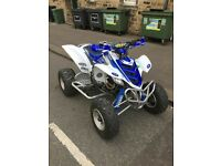 2010 YAMAHA RAPTOR 660r ROAD LEGAL QUAD BIKE