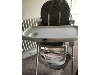 High chair is great condition