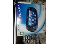 Ps vita Sony crystal black minit conditions