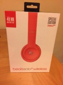 Beats Solo 3 wireless headphones - Red Special Edition