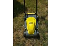 Electric Challenger Lawn Mower - Excellent Condition