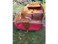 'Seahopper Scamp' Folding Rowing Boat or Yacht Tender