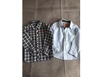 Boys shirts 3-4y