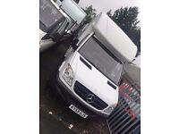 MERCEDES SPRINTER 313CDI LUTON LWB WITH TAIL LIFT, 59REG, EURO 5 FOR SALE