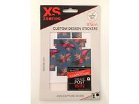 Xsories/ XSkin custom design stickers/ compatible with GoPro & HERO3/+ tropical design