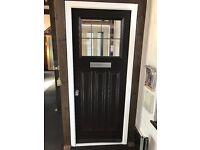 Engineered timber front entrance door 900 x 2100mm