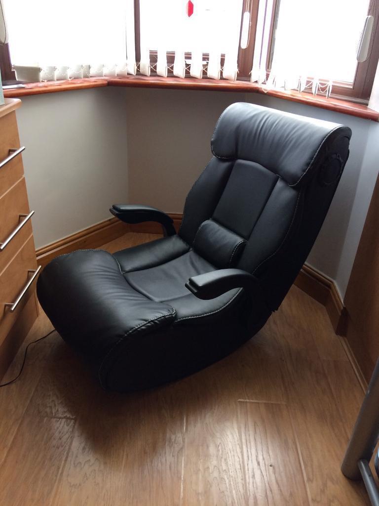 Gaming Chair, Wireless X Rocker model no 5177301