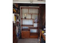Display Unit/Room Divider in Chinese Rosewood 802cm. high by 100 cm. wide by 36 cm. deep.