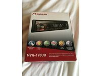 Brand new NEVER used pioneer stereo