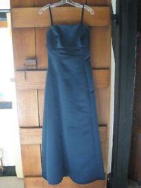 2 Navy Blue Watters, Full Length Bridesmaid Dresses. Sizes 16 and 12