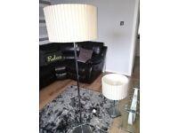 Floor Lamp & Table Lamp & Lamp Shade (All Matching)