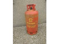 Propane Gas Cylinder/Bottle, Empty, Shell Propagas 18.5kg size