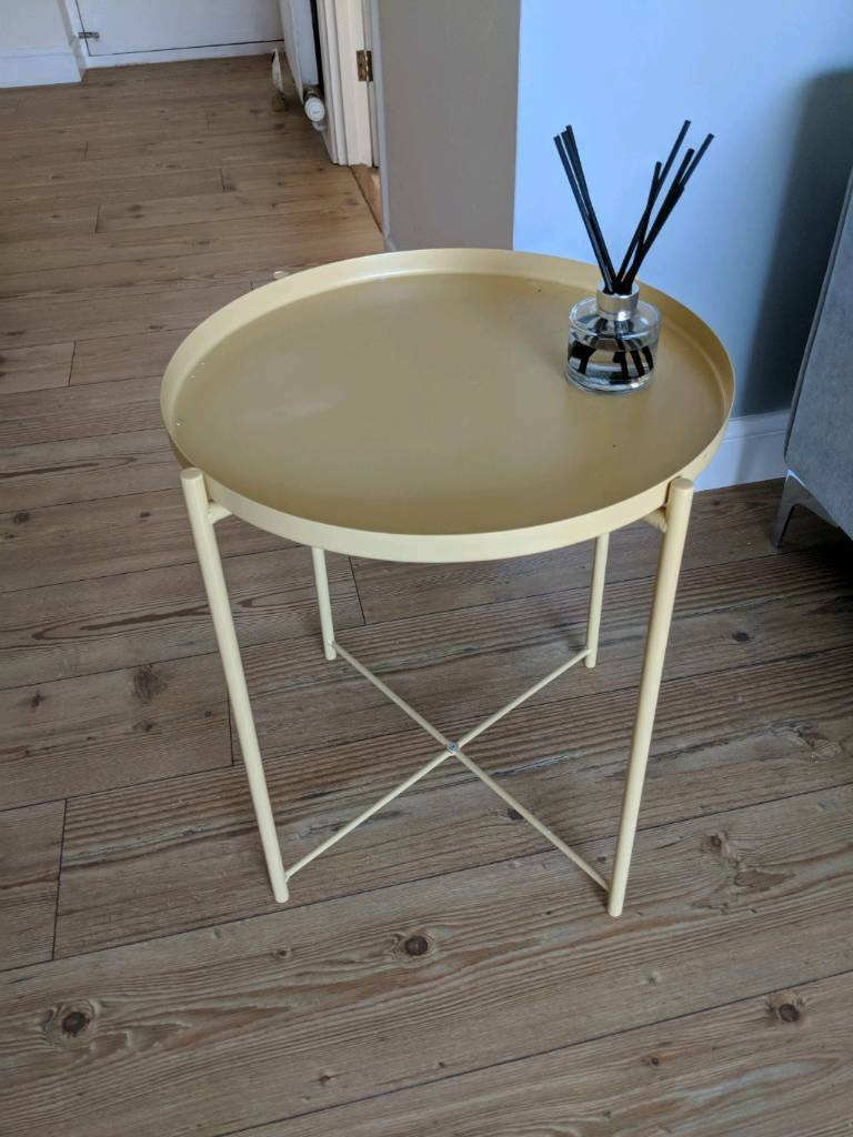 Ikea Gladom Tray Table Yellow In Bath Somerset Gumtree