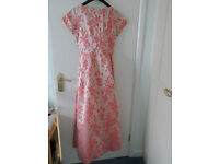 Pink Brocade bridesmaid dress for material